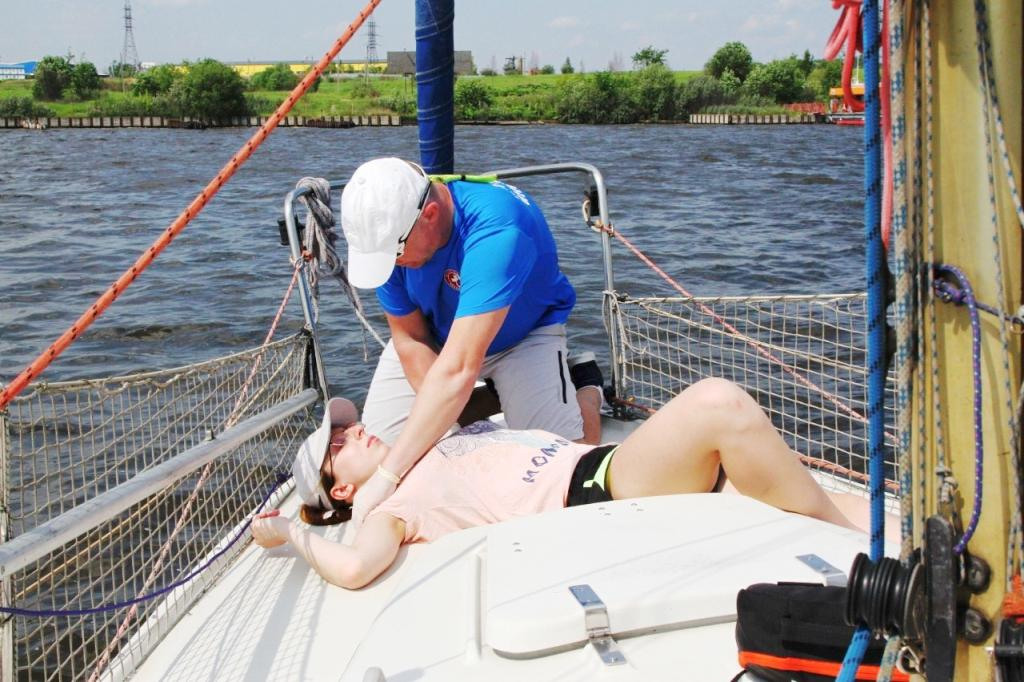 Курс первой помощи для яхтсменов